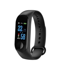 Smart Bracelet Fitness Pedometer Sports Watches - Black