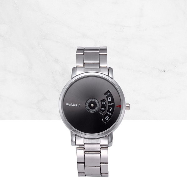 High Quality Alloy Designer Black Dial Wrist Watch