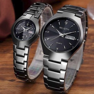 Stainless Luxury Formal Analogue Watch - Black