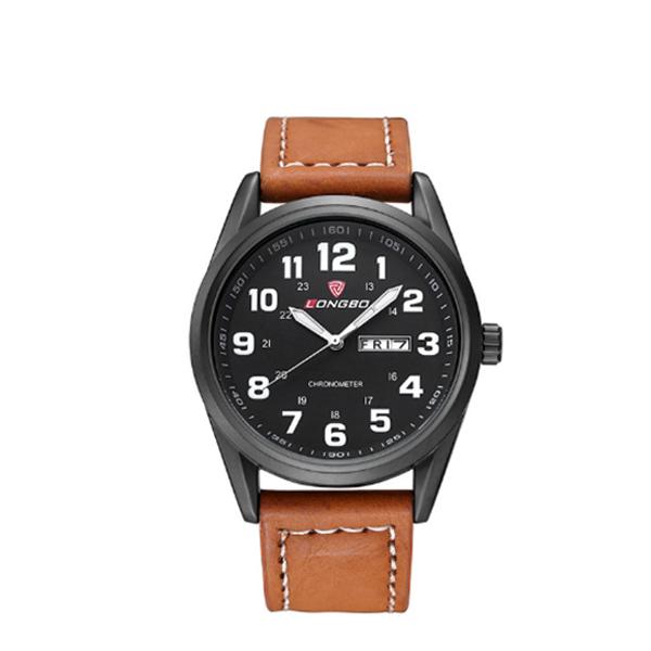 Longbo Stainless Steel Quartz Watchwrist Casual Fashion Watch